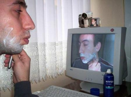 computer shave
