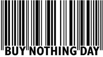 buy nothing day barcode