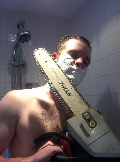 chainsaw shaver