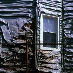 melted siding