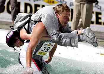 wife carrying contest