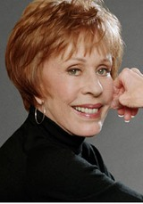 carol burnett first job