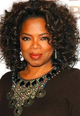 oprah winfrey first job